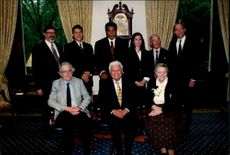 Muhammad Ali, at the top of the middle, and Latin jazz musician Tito Puente, at the bottom of the middle, became both honorary doctorates at Columbia University.
