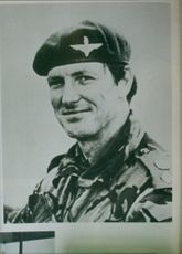 Officer Col H Jones VC of the Parachute regiment