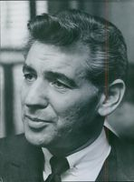 Portrait of Leonard Bernstein, 1959.