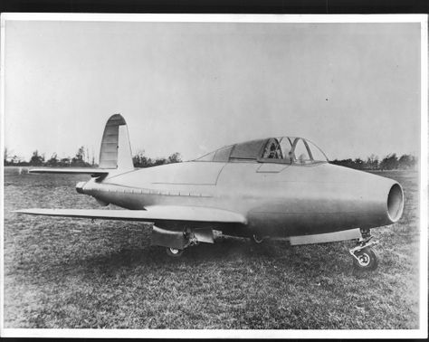 British jet aircraft EA 5555 the first of its kind that is driven by a gas turbine engine flew for the first time