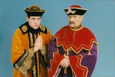 NCH Theatre Royal Panto 1994/95, Aladdin, Olly Day with Derek Mannway