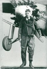 Portrait of Captain Charles Lindbergh