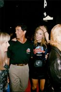 Sylvester Stallone with her wife Jennifer Flavin opens the 28th Planet Hollywood restaurant
