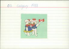 The Olympic Games in Calgary 1988, Hidy and Howdy.