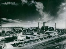 1972 Views of Britain: View of Imperial  Smelting Corporation, Avonmouth