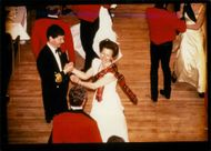 Princess Anne and Timothy Laurence in Royal Caledonian Ball