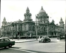 The Portrait of City Hall Belfast.
