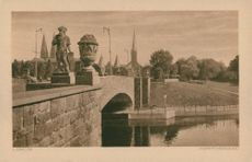 Postcards: Dock Bridge