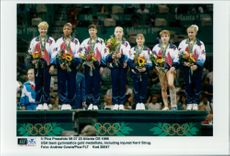 The US gymnastics team took home profit during the Olympics.