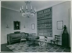 A photo of Fredrika Bremer's vintage room.