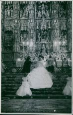 Duke of Alba's daughter's wedding