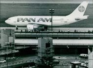 European Aircraft, Pan Am Airbus A 300, 1984.