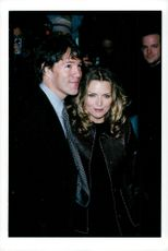 """Scriptwriter David E. Kelley along with his wife Michelle Pfeiffer at the premiere of """"The Story About Us"""""""