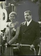 The French politician Pierre Laval arrives at the United States.