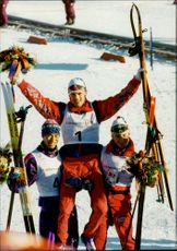 Winner of skiing - OS Lillehammer