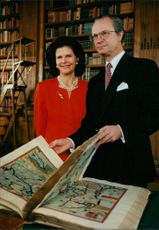 Queen Silvia and King Carl Gustaf
