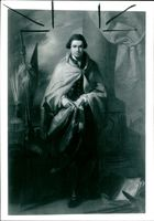 'Sir Joseph Banks' painting by Benjamin West, created in 1773