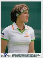 Martina Hingis tennis player plays in Wimbledon
