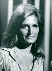 Portrait of Dalida.