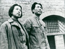 Mao and Jiang Qing when young