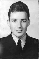 Flights Pupil Ernst Sigvard Harry Kullman who survived a plane crash with a trainer SK50 from war flight School.