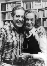 George with his wife Nena O' neill.