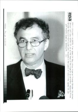 Sid Ahmed Ghozali: Foreign Minister