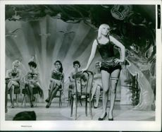 A scene from the film The Blue Angel.