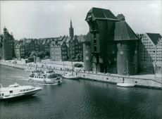 Year ? Polish Views: View of the Zuran Gdansk.