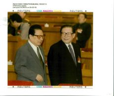 Jiang Zemin Former General Secretary of the Communist Party of China and qia shi.