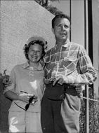June Allyson and Dick Powell
