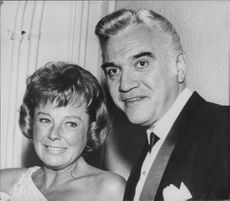 June Allison with his husband Lorne Green.