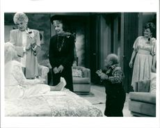 """Scene from the TV series """"Panther Aunts"""
