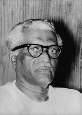 Portrait of D.P.R. Goonawardena.