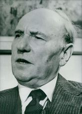 Portrait of Sir Ralph David Richardson.