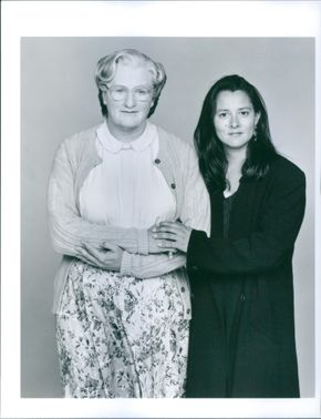 1993  A scene of the movie Mrs. Doubtfire