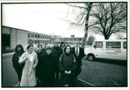 Schools 1988:Parents and pupils of ramsden school.