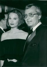 Guy McElwaine with his wife.