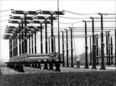 A switchgear near Dortmund in West Germany, which Siemens has been involved in building