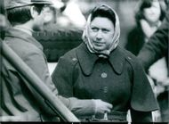Princess Margaret at the Badminton Horse Trials wrapped up against the cold; on the left is her nephew, Prince Edward. Princess Margaret celebrates her 48th birthday in August 1978.
