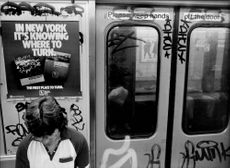 The subway in New York.