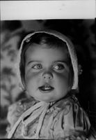 Portrait of the 2-year-old Princess Margaretha.