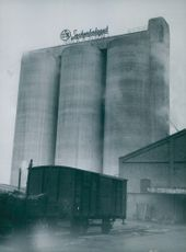 The sugar company's silos in Linköping