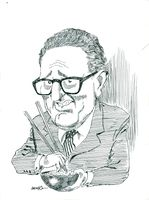 Cartoon cartoon deputy Henry Kissinger