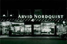 Company: Arvid Nordquist. The store at Östermalmstorg