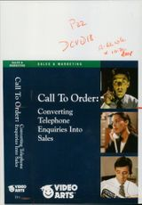 Call to order, video arts, 1996.