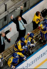 Olympic Games in Lillehammer - Ice Hockey. Sweden - Russia