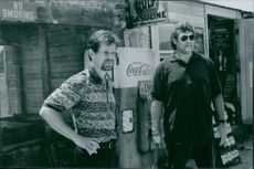 """William H. Macy stars as Charlie Crisco and Benny Bennett as Lloyd """"Benny"""" Bennett in Ghosts of Mississippi."""