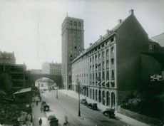 View of a city, 1923.