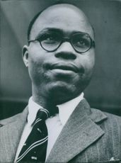 Photograph of The Hon. E. Njoku. Former Minister of Mines and Power of Federal Republic of Nigeria.